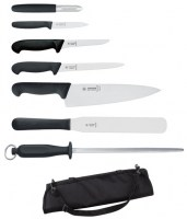 7 Piece Giesser Knife Set and Case