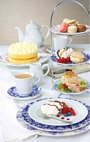 Heritage Vintage Plates & Saucers in service