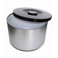 10 Litre Plastic Ice Bucket with Aluminium Outer Finish