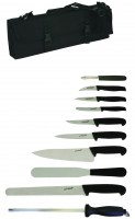10 Piece Knife Set and Case