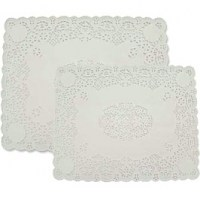 Lace patterned Tray Papers