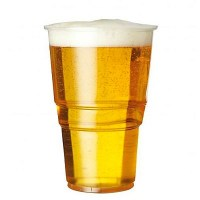 Biodegradable Plastic Beer Tumbler 20oz / 57cl / PINT