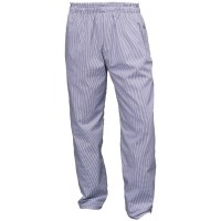 Blue & White Chef Trousers