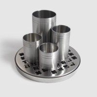 Stainless Steel Tray for Thimble Measures with Thimbles