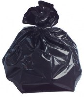 Black Refuse Sack 18x29x39'' Catering Strength
