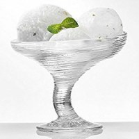 22cl Tornado Sundae Glass with Ice Cream