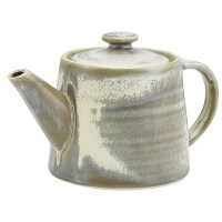 Matt Grey Terra Teapot