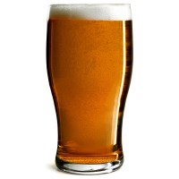 Pack of 6 Utopia CE MARKED To Brim Tulip Plain Beer Pint Glass 20oz 56cl