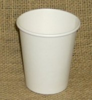 WHITE Hot Drink Paper Cup 8oz / 22.7cl