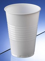 White Plastic Cup 20cl / 7oz