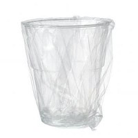 23cl Wrapped Plastic Tumbler for Guest Rooms 23cl / 8oz