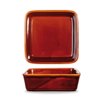 Art de Cuisine Square Deli Dish Simmer Brown