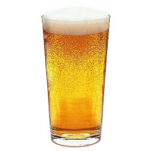 Toughened Conical Beer Glass